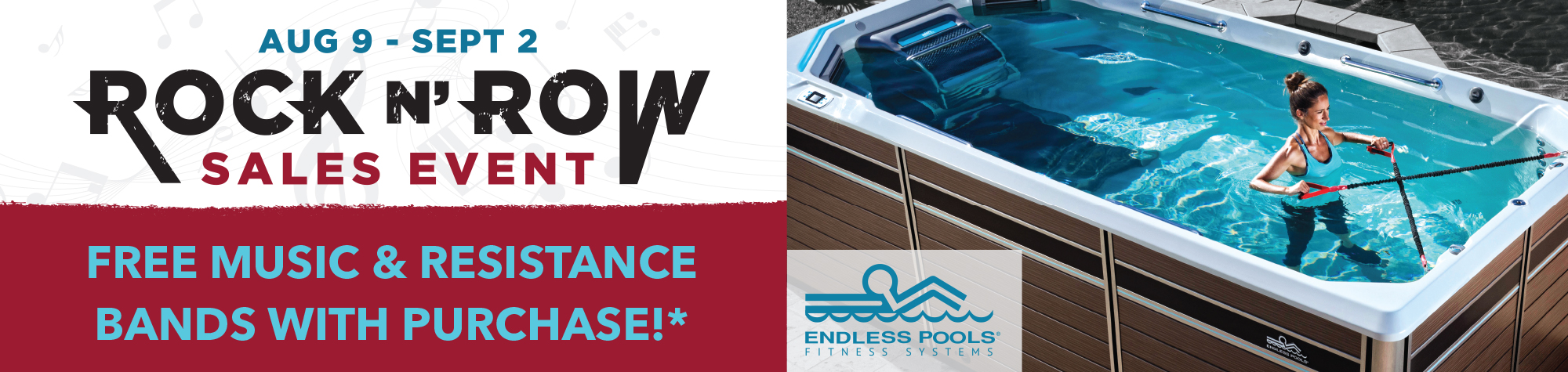 Endless Pools Rebate or Ride Event